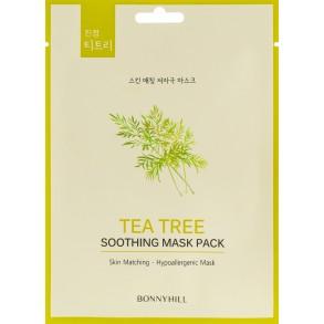 Тканевая маска с экстрактом чайного дерева Beauadd Bonnyhill Mask Pack Tea Tree