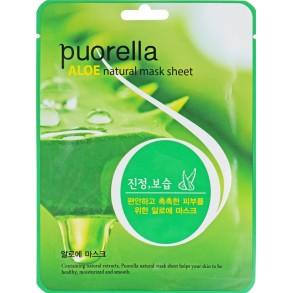 Тканевая маска с экстрактом алоэ Puorella Aloe Natural Mask Sheet