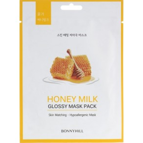 Тканевая маска с медом Beauadd Bonnyhill Mask Pack Honey