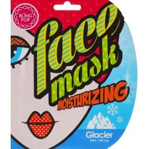 Увлажняющая маска для лица с талой ледниковой водой Bling Pop Glacier Moisturizing Mask