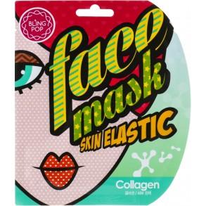 Гелевая лифтинг-маска для лица с коллагеном Bling Pop Collagen Skin Gell Mask