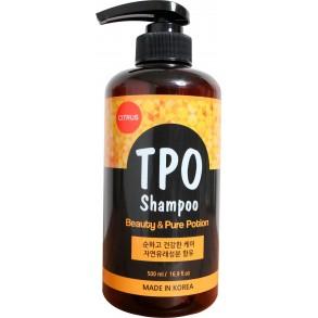 Натуральный питательный шампунь для блеска волос TPO Shampoo Beauty & Pure Potion