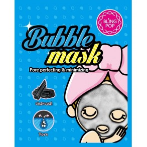 Пузырьковая маска с углем Bling Pop Bubble Mask Pore perfecting & minimizing