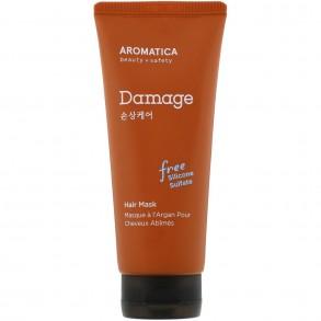 Питательная маска для повреждённых волос Aromatica Argan Damage Care Hair Mask
