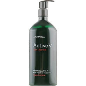 Шампунь против выпадения волос с розмарином Aromatica Rosemary Active V Anti-Hair Loss Shampoo