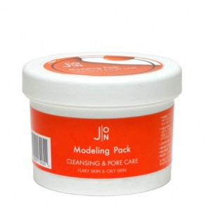 Альгинатная маска для сужения пор J:ON Modeling Pack Cleansing and Pore Care for Flaky and Oily Skin 18g