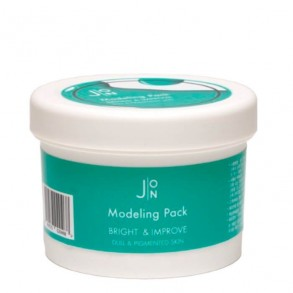 Альгинатная маска  для тусклой и пигментированной кожи J:ON Modeling Pack Bright and Improve for Dull and Pigmented Skin 18g