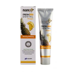Освежающая зубная паста Hanil Nano Fresh Dental Pineapple