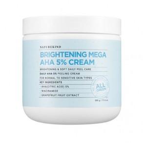 Крем с комплексом кислот Naturekind Brightening  mega aha 5% cream