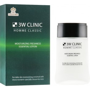3w Clinic Homme Classic Moisturizing Freshness Essential Lotion