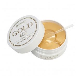 Гидрогелевые патчи с экстрактом золота Petitfee Gold  EGF Eye & Spot Patch