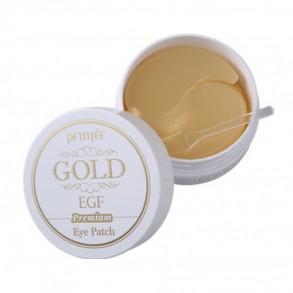 Гидрогелевые патчи для глаз с золотом Petitfee&Koelf Premium Gold & EGF Eye Patch