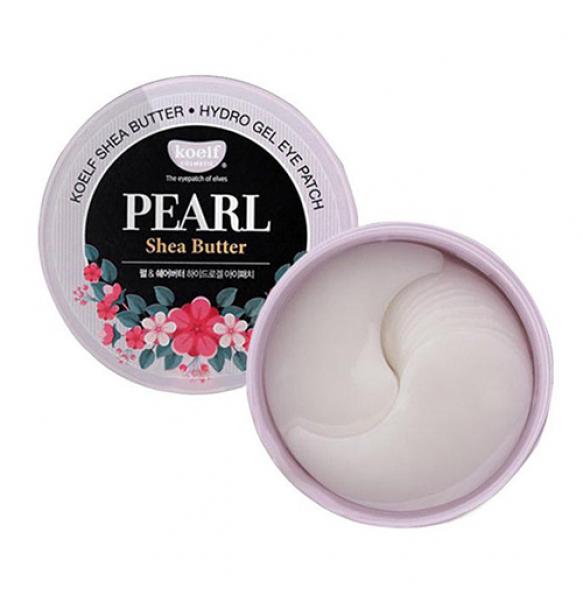Гидрогелевые патчи с жемчугом и маслом ши Petitfee & Koelf Pearl & Shea Butter Eye Patch