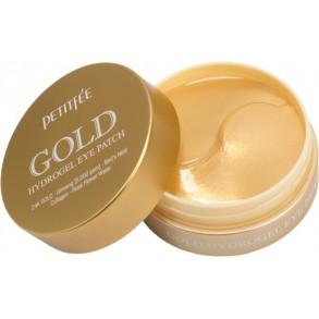 Гидрогелевые патчи с экстрактом золота Petitfee Gold Hydrogel Eye Patch