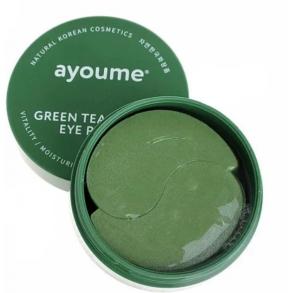 Гидрогелевые патчи с экстрактом зеленого чая и алое Ayoume Green Tea + Aloe Eye Patch