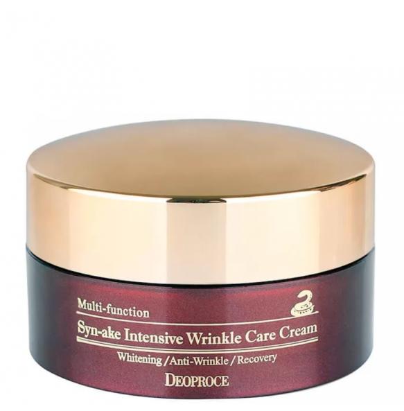 Антивозрастной крем для лица со змеиным ядом Deoproce Syn-Ake Intensive Wrinkle Care Cream
