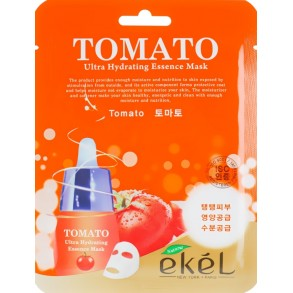 Маска тканевая с экстрактом томата Ekel Tomato Ultra Hydrating Mask