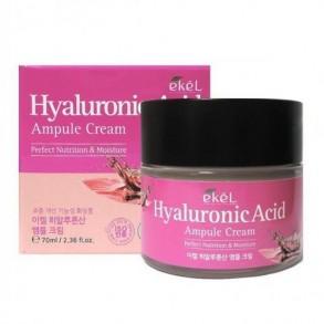 Крем с гиалуроновой кислотой Ekel Hyaluronic Acid Ampoule Cream