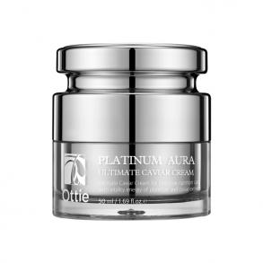 Антивозрастной капсульный крем Ottie Platinum Aura Ultimate Caviar Cream