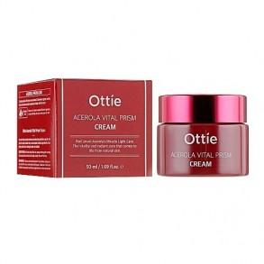 Витаминный крем для глаз с ацеролой Ottie Acerola Vital Prism Eye Cream