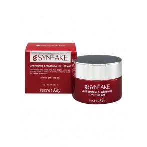 Змеиный антивозрастной крем для лица Secret Key Syn-Ake Anti Wrinkle & Whitening Cream