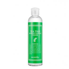 Очищающий тонер для лица с маслом чайного дерева для проблемной кожи Secret Key Tea Tree Refresh Calming Toner