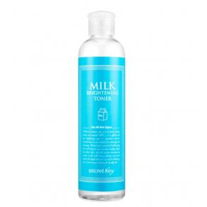 Молочный тонер для сияния и питания кожи лица Secret Key Milk Brightening Toner