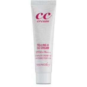 СС крем для увлажнения и сияния Secret Key Telling U CC Cream SPF 50
