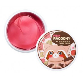 Гидрогелевые патчи для глаз и скул Secret Key Pink Racoony Hydro-Gel Eye & Cheek Patch