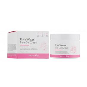 Гель-крем на основе розовой воды Secret Key Rose Water Base Gel Cream