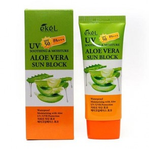 Ekel Soothing And Moisture Aloe Vera Sun Block SPF50+ PA+++