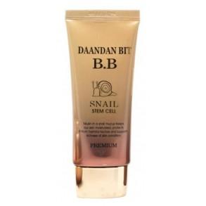 ББ-крем с муцином улитки и фитостволовыми клетками Daandan Bit Snail Stem Cell BB-Cream Premium SPF 40 PA++