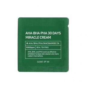 Восстанавливающий крем для проблемной кожи Some By Mi AHA-BHA-PHA 30 Days Miracle Cream 2ml