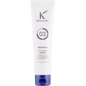 Крем для локонов кудрявых волос PL Cosmetic Kerastin Pop Curling Essence-Hard Rock