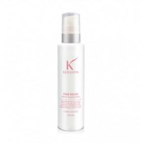 Восстанавливающая маска-мист с протеиновым комплексом Kerastin Pink Musk Mist Hair Treatment