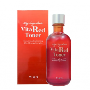 Витаминный тонер Tiam My Signature Vita Red Toner