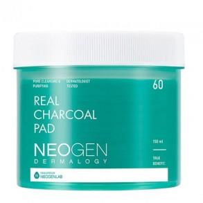 Увлажняющие пилинг-диски с углём Neogen Dermalogy Real Charcoal Pad