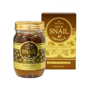 Ампульная сыворотка с золотом и муцином улитки 3W clinic Gold Snail Ampoule