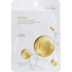 Тканевая маска на основе морского коллагена BeauuGreen Premium Firming Collagen Essence Mask