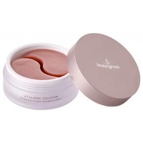 Гидрогелевые патчи для кожи вокруг глаз, большой размер BeauuGreen Pomegranate & Ruby Hydrogel Eye Patch