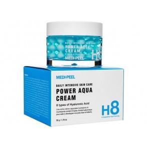 Капсульный крем в шариках для интенсивного увлажнения кожи Medi-peel Power Aqua Cream