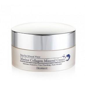 Минеральный крем с морской водой и коллагеном Deoproce Marine Collagen Mineral Cream