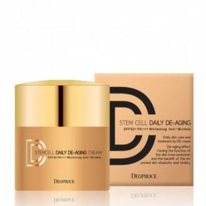 ДД-крем для лица Deoproce Stem Cell Daily De-Aging Cream №21