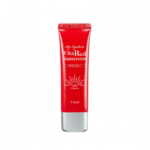 Солнцезащитный крем с витамином С Tiam My Signature Vita Red Sunscreen SPF50+ PA+++