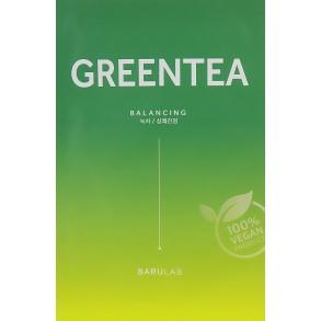 Успокаивающая маска с зелёным чаем Barulab The Clean Vegan Green Tea Mask