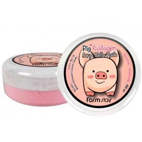 Ночная увлажняющая маска с коллагеном FarmStay Pig Collagen Aqua Jelly Pack