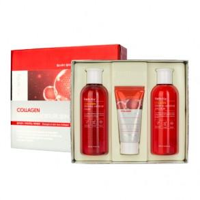 Набор для ухода за кожей на основе коллагена FarmStay Collagen Essential Moisture Skin Care 3 Set