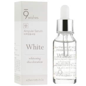 Сыворотка для осветления пигметаци 9 Wishes Miracle White Ampule Serum