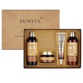 Набор интенсивно восстанавливающей улиточной косметики для лица Eunyul Snail Intensive Facial Care 4 Set