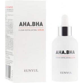 Сыворотка для обновления кожи лица с кислотами Eunyul AHA BHA Clean Exfoliating Serum